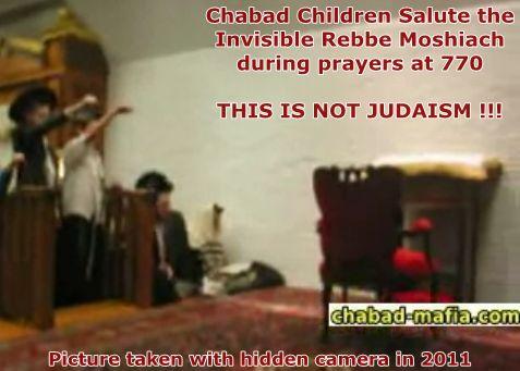 chabad nazi salute
