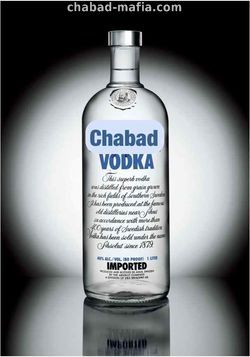 chabad promotes use of drugs and alcohol