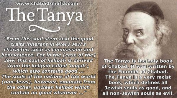 The Tanya is the holy book of Chabad